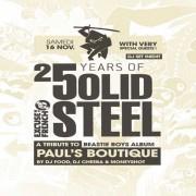 Excuse My French spéciale 25 ans de Solid Steel à La Bellevilloise