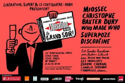 Libération fête ses 40 ans en musique au Centquatre