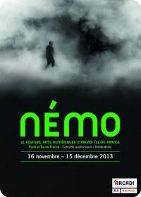 Le Festival Némo 2013 : le festival Arts Numériques d'Arcadi île-de-France