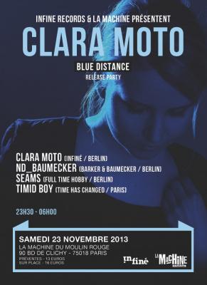 Clara Moto Release Party à la Machine du Moulin Rouge
