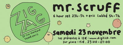 Mr Scruff au Zig Zag Club