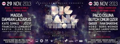 Big Bang Theory 2013 au Chalet de la Porte Jaune