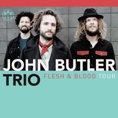 John Butler Trio en concert au Trianon de Paris en 2014