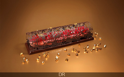 L'Éclair Géant Bûche de Noël by l'Atelier de l'Éclair