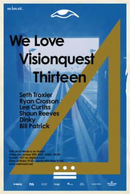 We Love Visionquest à la Cité de la Mode et du Design