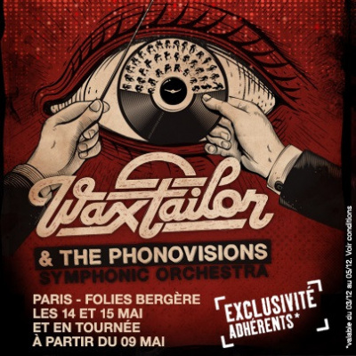 Wax Tailor & The Phonovisions Symphonic Orchestra aux Folies Bergère de Paris en 2014