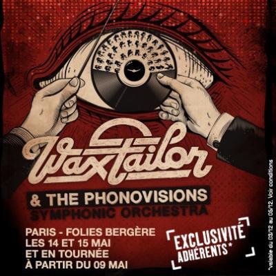 Wax Tailor & The Phonovisions Symphonic Orchestra aux Folies Bergère de Paris en 2014