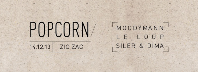 Popcorn Records au Zig Zag avec Moodymann