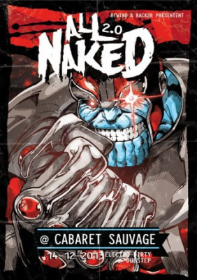 All Naked 2.0 au Cabaret Sauvage avec Let's Be Friends