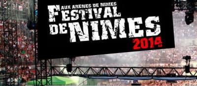 Guide des Festivals 2014 : le Festival de Nîmes aux Arènes