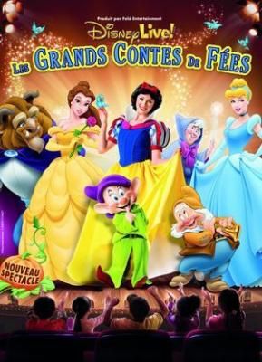 Disney Live ! 2014 : Les grands contes de fées au Grand Rex