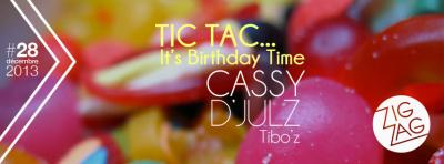Tic Tac… It's Birthday Time au Zig Zag