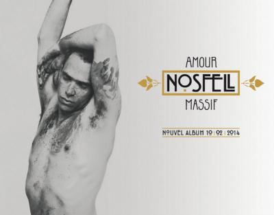 Nosfell en concert à La Maroquinerie de Paris en 2014