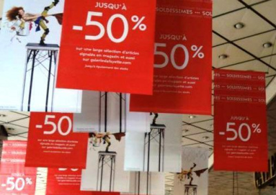 « Pose Shopping » : 4 jours de soldes exclusifs avec Elodie Frégé