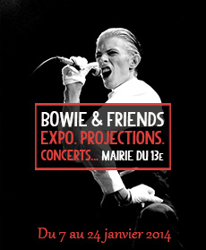 Bowie & Friends : expo, concert et projections à la Mairie du 13e