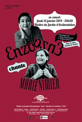 Enzo Enzo au Théâtre du Jardin d'Acclimatation