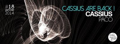 Cassius are back au Zig Zag Club