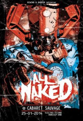 All Naked 2.0 au Cabaret Sauvage avec Virtual Riot
