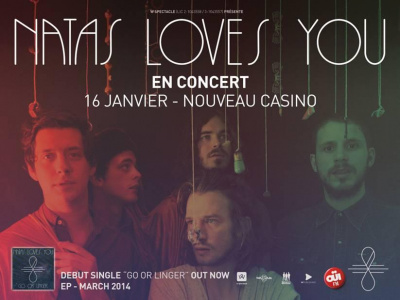 Natas Loves You en concert au Nouveau Casino : gagnez vos places !