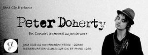 Pete Doherty de retour au Jane Club pour un nouveau concert
