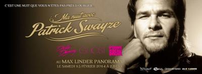Ma Nuit avec Patrick Swayze au Max Linder Panorama
