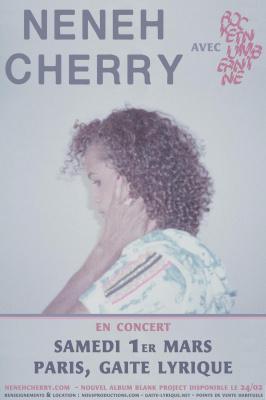 Neneh Cherry & RocketNumberNine en concert à la Gaîté Lyrique