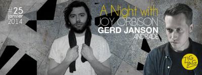 A Night with… Joy Orbison au Zig Zag