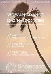 We Want Dance au Showcase avec Shaun Reeves