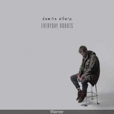 "Sortie du premier album solo de Damon Albarn ""Everyday Robots"""
