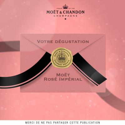 « Dégustation Moët Rosé Impérial » : gagnez un dîner sur-mesure pour la Saint Valentin 2014
