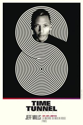 Jeff Mills présente Time Tunnel #3 à la Machine du Moulin Rouge