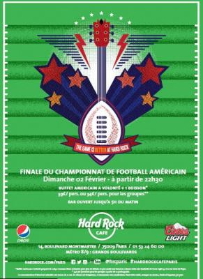 Vivez la finale du Super Bowl 2014 au Hard Rock Café Paris