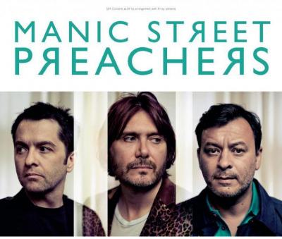 Manic Street Preachers en concert au Bataclan de Paris en 2014