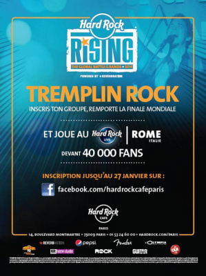 Hard Rock Rising 2014 au Hard Rock Café Paris