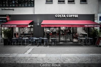 Costa Coffee ouvre une boutique au coeur du Marais à Paris