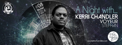 A Night with… Kerri Chandler au Zig Zag Club