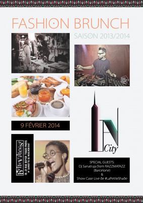 Fashion Brunch IN' A City à La Bellevilloise
