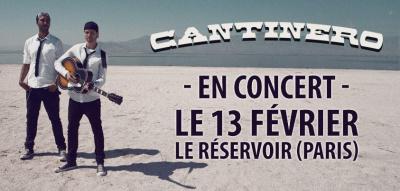 Cantinero en concert au Réservoir de Paris