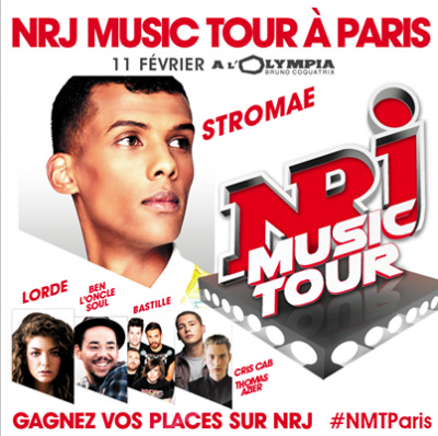 NRJ Music Tour à l'Olympia de Paris avec Stromae