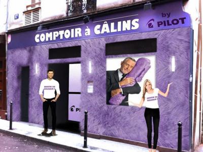 Saint Valentin 2014 : ouverture d'un bar à câlins à Paris