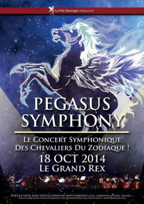 Pegasus Symphony : le concert symphonique des Chevaliers du Zodiaque au Grand Rex de Paris
