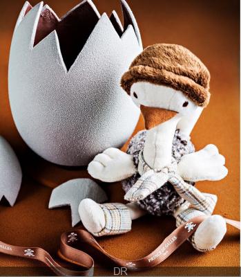 Pâques 2014 : l'oeuf en chocolat de Yann Couvreur au Prince de Galles