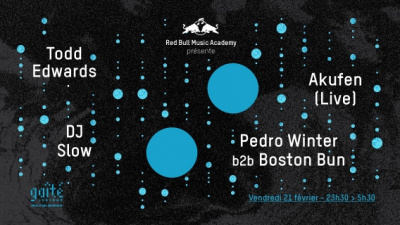 Nuit de la Gaîté Lyrique avec Todd Edwards et Pedro Winter b2b Boston Bun