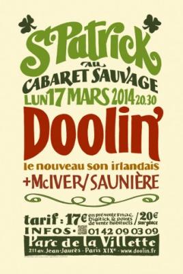 Fête de la Saint Patrick 2014 au Cabaret Sauvage à Paris