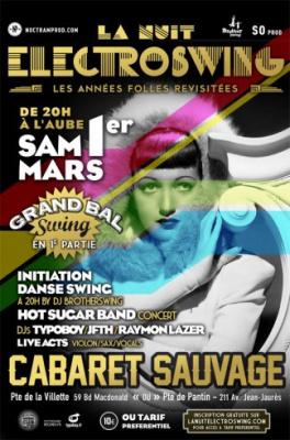 La Nuit Electroswing : Les années folles revisitées au Cabaret Sauvage
