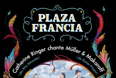Plaza Francia en concert aux Folies Bergère de Paris