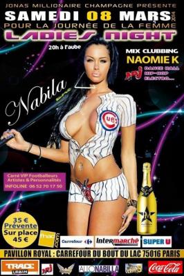 Ladies Night avec Nabila et Naomie K au Pavillon Royal