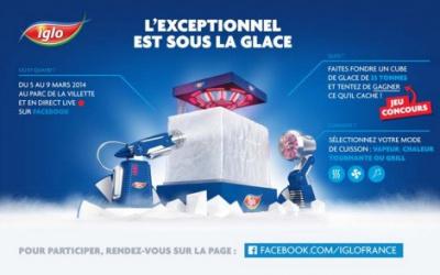 Iglo présente « L'Exceptionnel est sous la glace » à La Villette