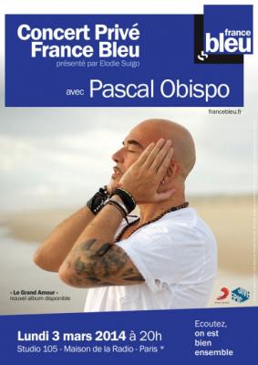 Pascal Obispo en concert Privé France Bleu