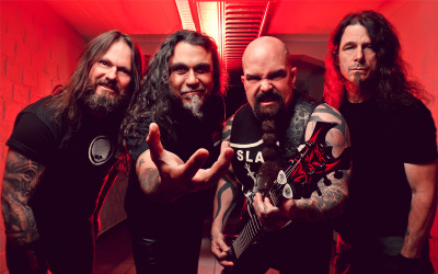 Slayer, Ghost, Mastodon et Anthrax en concert au Zénith de Paris en juillet 2014